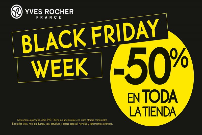 d4cfb136599 Black Friday Week Yves Rocher - Centro Comercial Los Ángeles